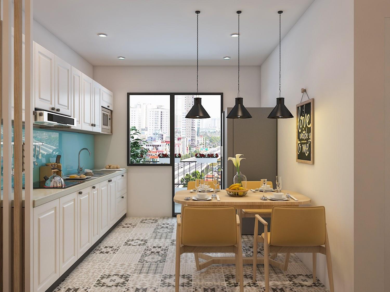 Xu hướng thiết kế phòng bếp đẹp và tiện nghi